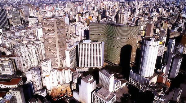 São Paulo Aerial