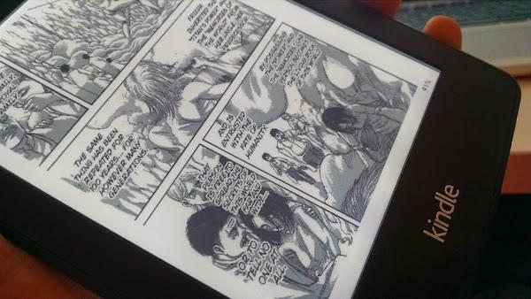 Kindle Paperwhite + Manga = Diversão